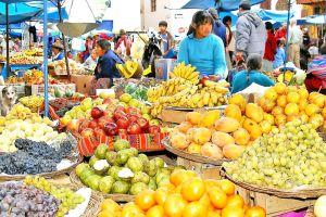 Coloured  Market  Peru by CitizenFresh