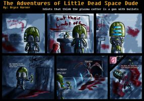Dead Space Comic by Bawarner