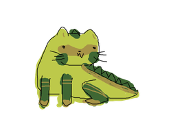Catgator Spudz by chichinana