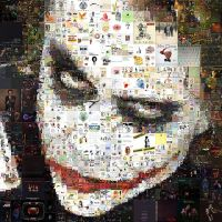 Joker Mosaic by Cornejo-Sanchez