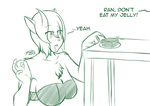 Ran and the Jelly by Psych0Dog