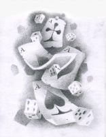 Cards and Dice by tatosXL