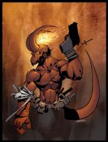 Hellboy Colour. by MarteGracia
