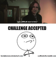 Mr. Gold - CHALLENGE ACCEPTED by lovelylarxene
