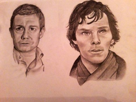 Sherlock and John by Sea-sons