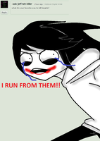 Ask Jeff The Killer-Question 8. by MikaelBratLoni