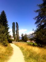 Walk in the mountain by SaralovesMichael