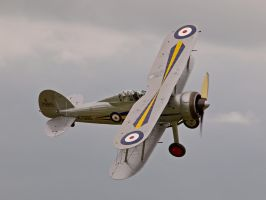 Gloster Gladiator - Old Warden by davepphotographer