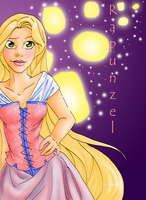 Rapunzel by WingedKitty