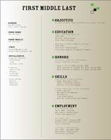 Final project : Resume by tiredofart