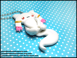Kyubey Necklace by GrandmaThunderpants