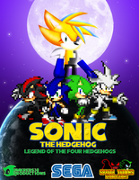 Legend of the Four Hedgehogs Poster by jmkrebs30