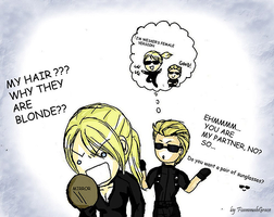 Why Jill is blonde in re5... by FiammahGrace