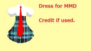 MMD Dress Download by MMDYuuki