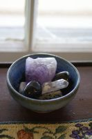 Objects: Bowl of Minerals by dAPaganStock