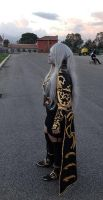 Lineage II Cosplay Dark elf Romics Blade dancer by TisifoneCosplay07