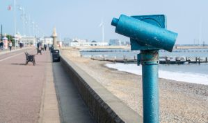 Lowestoft Beach Scope by TheBigDaveC
