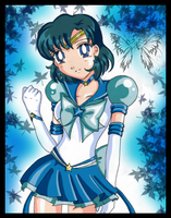 Eternal Sailor Mercury by sinister-puppet