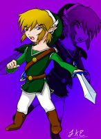 Adult Toon Link by artisticgamemaster