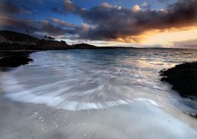 Arisaig Setting Sun by DL-Photography
