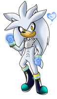:..Silver The Hedgehog..: by FabienneTheHedgehog
