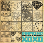 Diamond Brush Pack [2013] by radroachmeat