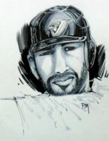 Jose Bautista :Close up by PM-Graphix