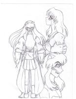kagome and her choice by Fred-Weasley