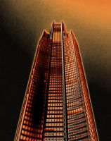 Red Highrise by SpectrumShift