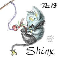 POKEDDEX Challenge - Dec 13 SHINX by afrolady114