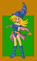 Dark Magician Girl by Sin-R