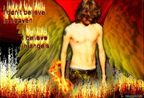 I believe in angels by Maggot350