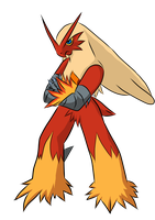 Blaziken by holyhell111