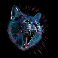 Wild Cat Shirt by Design-By-Humans