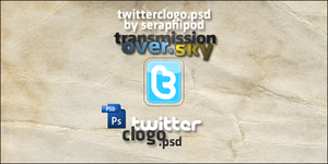 .PSD.Twitter Icon by SeraphiPod