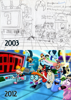 Redrawing the Past: Dexter's Cartoon-O-Tron by Goomuin