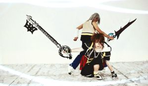 Kingdom Hearts II Riku And Sora  BY The SC Cosplay by theSCcosplay