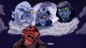 Werewolf  in London by Makinita