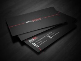 Line Corporate Business Card by glenngoh