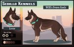 WCK's Frozen Candy: Lector by Sedillo-Kennels