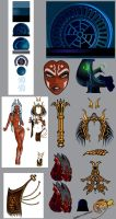 Queen Ahsoka Naj Vaada Details by The-First-Magelord