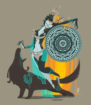 Re:Twilight Princess Midna by Dream-Piper