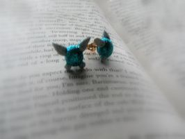 Legend of Zelda - Fairy earrings by Peace-and-Puzzles