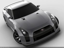 Nissan GT-R proto by Missionaryrdr