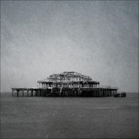 Snow on the old Pier by Pete-B