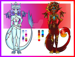 Dragon adoptables :offer to adopt: OPEN by Blue-Fayt