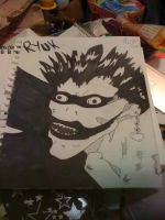 Ryuk by DeadRoseInTheSnow