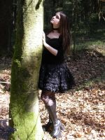 Gothic Lolita shooting 2 by snow-white-Alice