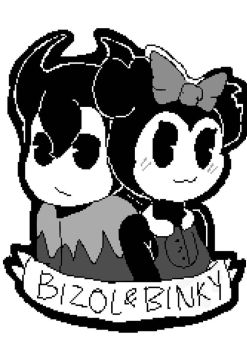 Bizol and Binky by TheArtistGamer3