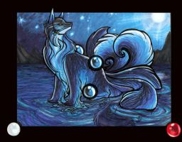 Kitsune Water by lizspit